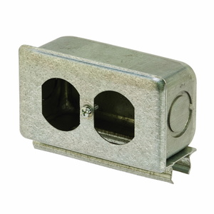 Cooper B-Line B516GALV Snap-In Outlet Box