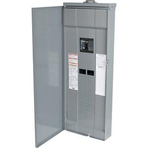 Square D QO342MQ200RB Load Center, Main Breaker, 200A, 240VAC, 3PH, 42/42, NEMA 3R, 65kA