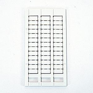 Entrelec 1SNK150000R0000 Blank Marking Cards. MC612PA.