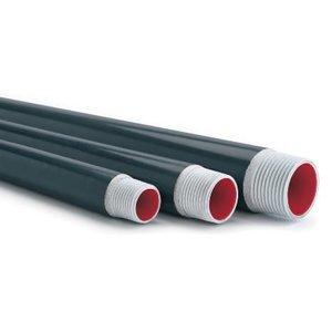 "Plasti-Bond PRCONDUIT-AL-5 PVC Coated Aluminum Conduit, 5"", 10' Length"