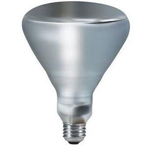 Philips Lighting 125BR40/1/TG-120V-4/1 125 Watt TuffGuard Coated Clear Reflector