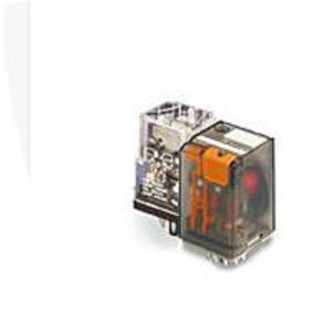 Tyco Electronics KRPA-11AG-24 Relay, Ice Cube, 8-Pin, 2PDT Contacts, 24VAC Coil, Enclosed