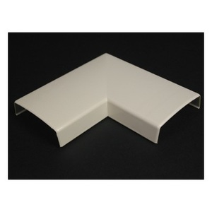 Wiremold 2311 90° Flat Elbow / 2300 Series Raceway, PVC, Ivory