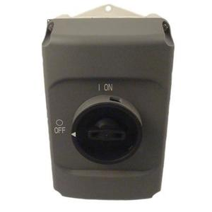 ABB IB132-G Enclosure, Gray, Clear Cover, MS132