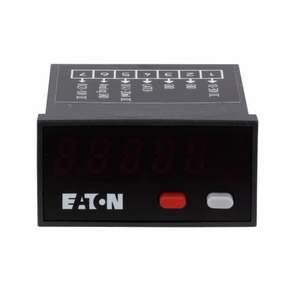 Eaton E5-324-E0402 Compact LED Panel Meter, Dc Power, 24 x 48 mm