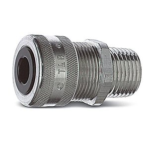 "Thomas & Betts 2940AL Liquidtight Strain Relief Connector, Size: 1"", Aluminum"