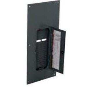 Square D QOC30UF Load Center, Cover with Door, NEMA 1, Flush Mount, 30 Circuit