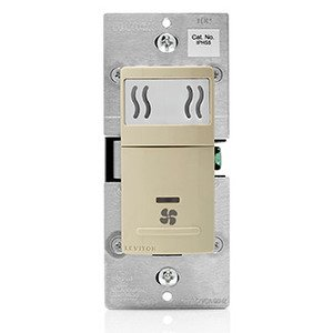 Leviton IPHS5-1LI Humidity Switch, Ivory