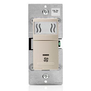 Leviton IPHS5-1LT Humidity Switch Light Almond