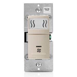 Leviton IPHS5-1LT Humidity Switch Light Almond