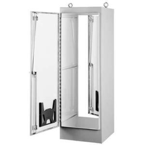 "Hoffman A723624FS Enclosure, Free-Standing, NEMA 12, One Door, 72"" x 36"" x 24"", Steel"