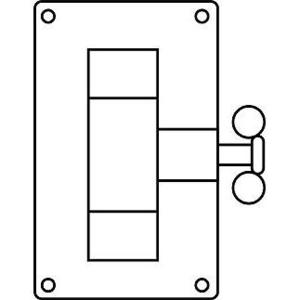 Hubbell-Killark FSPT For Toggle Switch Device Cover