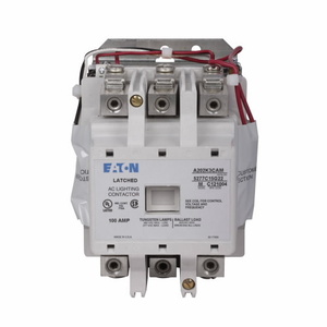 Eaton A202K3CA NEMA Magnetically Latched Lighting Contactor