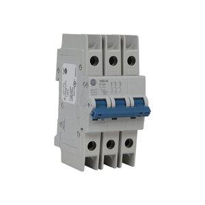 Allen-Bradley 1489-M3D100 Breaker, Miniature, 10A, 3P, 480Y/277VAC