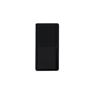 Lutron DVTV-BL Fluorescent/LED Dimmer, Diva, Black