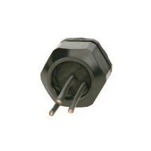 "Heyco M3234GBS-SM Cord Connector, Solar Masthead, 3/4"", Liquidtight, Nylon"