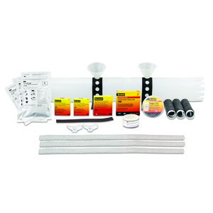 3M 8096-2 1/0 to 2 AWG Cold Shrink Splice Kit