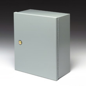 Cooper B-Line 16126-1 Enclosure, NEMA 1, Screw Cover, No K.O., Steel