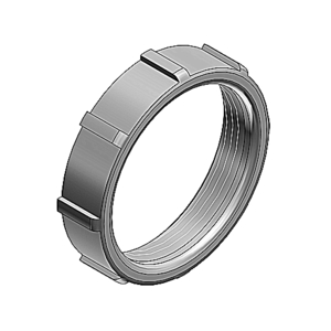 """Ocal 126AL Conduit Bushing, Size: 1-1/2"""", Material: Aluminum"""