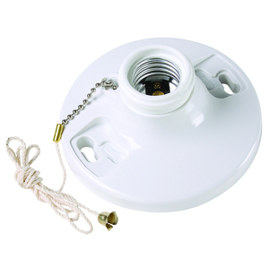 Pass & Seymour 280-WH6 PS 280-WH6 LAMHOLDER 250W 250V