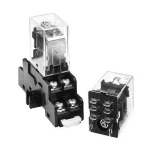 GE CR420NPA0444 GED 420NPA0444 4PDT 24VDC RELAY