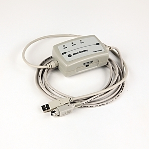 Allen-Bradley 1784-U2DHP Cable, Communications, for 8-Pin DIN, to USB, 10'