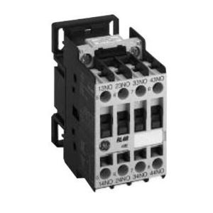 GE RL4RA022T1 Power Relay, 10A @600VAC, 24VAC Coil, 4P, 2NO/2NC Contacts