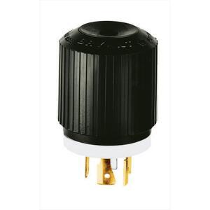 Hubbell-Bryant 71820NP Lkg Plug, 20a 120/208v, L18-20p,b/w
