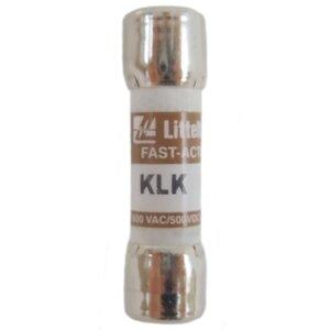 Littelfuse KLK012 Fuse, 12A, 600VAC, KLK Series Fast Acting