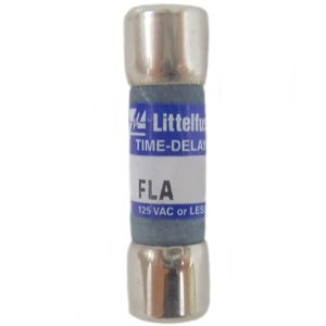 Littelfuse FLA001 Midget Pin Indicating Fuse, Time Delay, 1 Amp, 125 Volt AC
