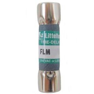 Littelfuse FLM009 9A, 250V, Slo-Blow  FLM Series Midget Fuse