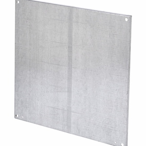 "Cooper B-Line N3030P Panel For Enclosure, 30"" x 30"", Type 3R, RHC"