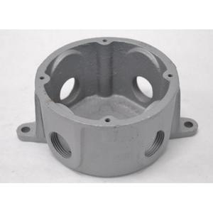 "Appleton JBLX-75L Conduit Outlet Box, Type JBLX, (4) 3/4"" Hubs, Malleable Iron"