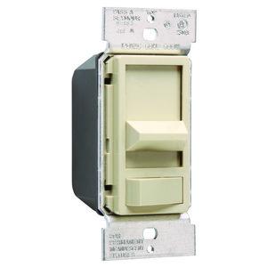 Pass & Seymour 90683-I Dim/slide 600w Pre-set 3-way Ivory