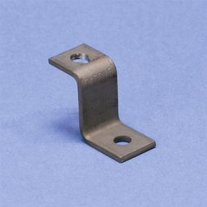 "Erico Caddy CPNAM Stand-Off Deck Angle Bracket, Length: 1-1/2"", Hole: 1/4"""