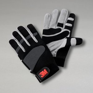 3M WGL-1 Gripping Material Work Glove, Large