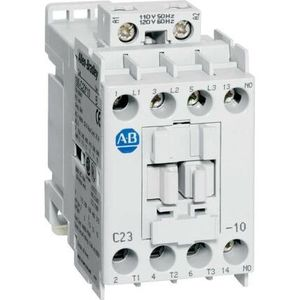 Allen-Bradley 100-C09KD10 Contactor, IEC, 9A, 3P, 110VAC Coil