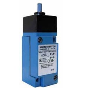 Micro Switch LSB1A Limit Switch, HDLS Series, Top Rotary, No Lever, Plug-In