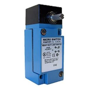 Micro Switch LSA6B Limit Switch, HDLS Series, Side Rotary, No Lever, Plug-In