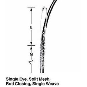 "Hubbell-Kellems 022291021 Fo Sgl Eye Sup Grip, .56""-.71"", Rod"