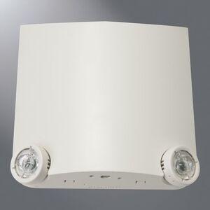 Sure-Lites LEM2 Emergency Light, Thin Profile, LED, 2 Head