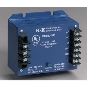 R-K Electronics PRSL-400-1.5 Ph Rev Rly 1.5 Sec Fixed Time