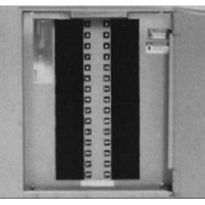 Siemens PQ2612 Panel Board, Distribution Kit, 12 Circuit, 600A, 1PH, 3W, 240VAC