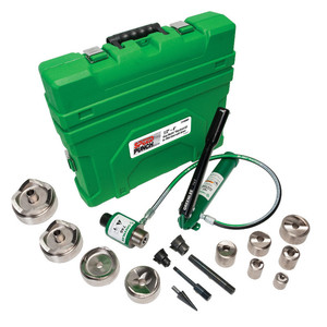 Greenlee 7310SBSP Speed Punch Knockout Punch Kit With Hydraulic Pump and Ram