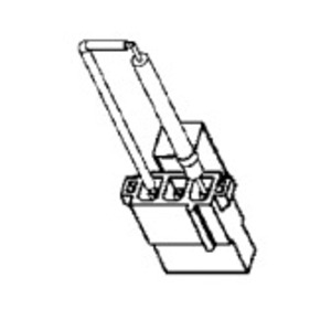 Federal Signal K149130A Strobe Tube for Models LP3P, LP3S, LP3T