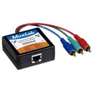 Muxlab 500054 Component Video/IR-Pass-Thru Balun, M