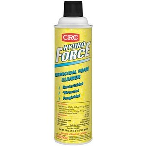 CRC 14430 HydroForce Germicidal Foam Cleaner - 19oz Aerosol Can