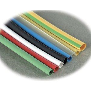 """Thomas & Betts CPO500-0-6 Heat Shrink Tubing, Thin Wall, 1/2"""", 6"""" Piece, Black, 1/2"""" Expanded I.D."""