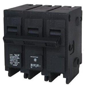 Siemens Q3100 Breaker, 100A, 3P, 120/240V, 10 kAIC, Type QP