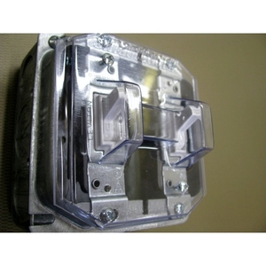 Clear Industries DCP-2T 1 GANG TOGGLE COVER